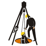 confined-space-attendant-logo-icon